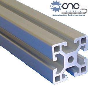 Perfil estructural aluminio p4040 router plasma decimetro - Perfiles de aluminio precios ...